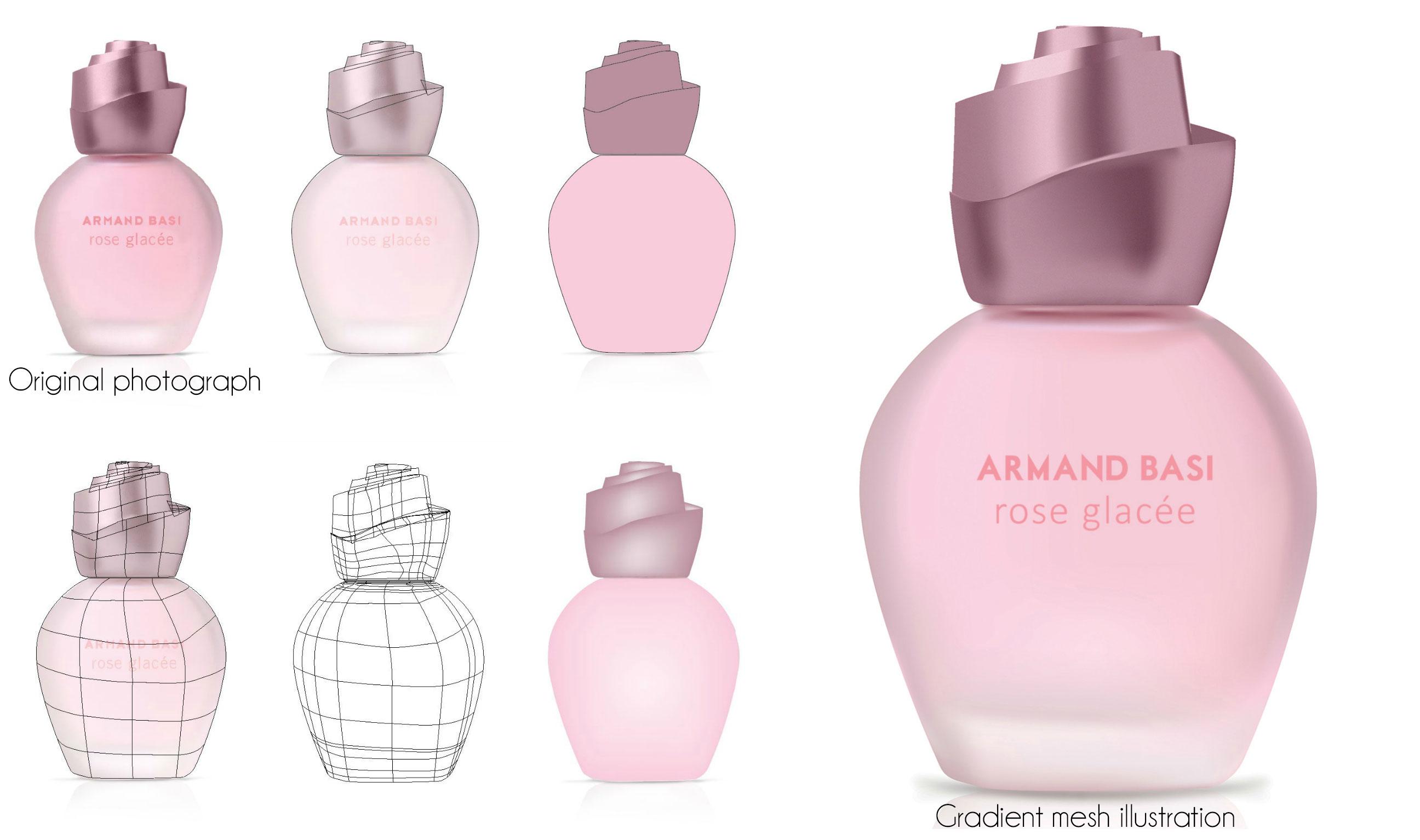 PerfumeBottleGradientMesh